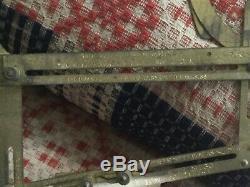 1880s Antique McDowell Garment Drafting Brass Sewing Dress Pattern Maker Set