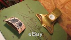 Antique Arts & Crafts John Hancock Desk Set Blotter Inkstand- 3 pcs