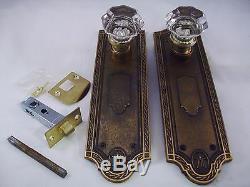 Antique Glass Door Knob Set Modern Door Conversion Retrofit doorz2. Co #748