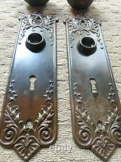 Antique Vintage 1905 CORBIN LORRAINE Door Hardware Set 91819 C