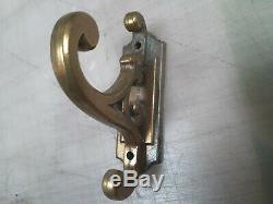 Complete Set of Antique Brass Towel Bar set with hook