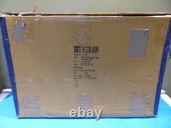 Crate & Barrel Floating Large Antique Brass Shelves 118-009 1366 Set Of 3