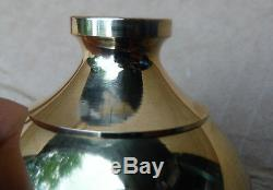 Set of 4 Brass 2 Finial Fits Antique Iron & Brass Beds 3/8 thread hard to find