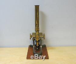 Stunning Antique J. H. Steward Microscope Set