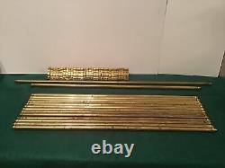 Vintage Brass Stair Rods Set Of 15